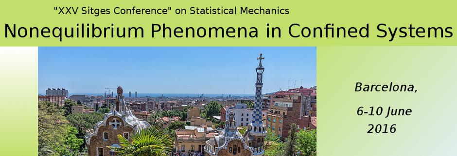 XXV Sitges Conference on Statistical Mechanics